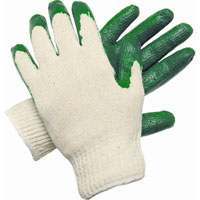 LOG-9681LMG Cotton/Poly, Green Latex Dip
