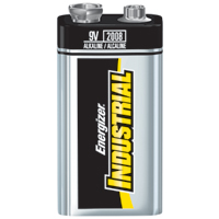 Energizer® Industrial 9V Alkaline Battery