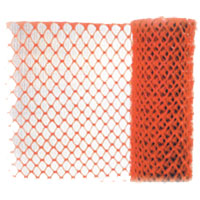 LOG-SF101DRC Orange Safety Fencing